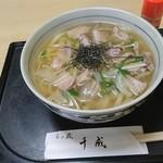 Sennari - 肉うどん900円(税込)