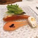 104561300 - 桜鱒のカルパッチョ