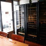 炭とワインと日本酒 イルフェソワフ - ワインセラー
