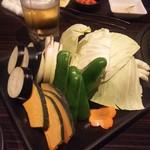 炙り屋 牛蔵 - 野菜
