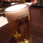 炙り屋 牛蔵 - 生ビール