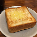 ディーン&デルーカ カフェ - 豆乳 食パンのトースト
