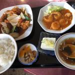 中国料理 王王楼 - 月曜日 日替わり御膳