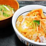 104567700 - 親子丼 ( 小 ) + 味噌汁 2019/03/27
