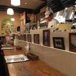 大衆イタリア食堂 アレグロ - 店内(カウンター席)