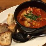 大衆イタリア食堂 アレグロ - ハチノスのトマト煮込み(トリッパ アッラ フィオレンティーナ)