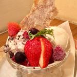 大衆イタリア食堂 アレグロ - 特製ジェラート