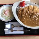 レストラン 潮 - 料理写真:カツカレー¥660