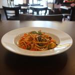 Trattoria Adriana - 色々お野菜の菜園風トマトソーススパゲッティ
