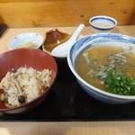 うどん棒 - 料理写真:タイムランチ 690円