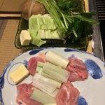 松浪 - 鶏もも肉/野菜