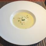 ロビーカフェ - 春野菜のスープ