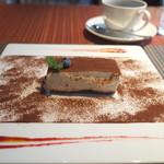 ロビーカフェ - ティラミス(ランチコースに+200円)
