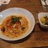 1+2 - 料理写真:タコのブッタネスカ