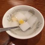 仙香園 - 〈D〉セットの杏仁豆腐