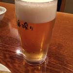 仙香園 - 生ビール