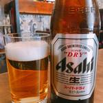 林華苑 - ビール 中瓶 580円
