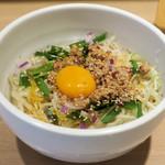 中華そば ます田 - 汁なし坦坦麺800円