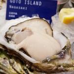 104589358 - 五島の牡蠣もふっくらツヤツヤ