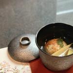 和食焼肉 和や - 桜エビしんじょに筍のお吸い物