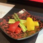 和食焼肉 和や - 季節の焼き野菜