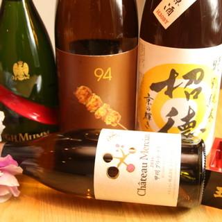料理をさらにおいしく!【日本酒】&【焼酎】で至極の乾杯を!!