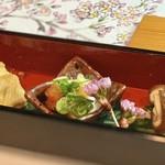 和食焼肉 和や - 本日の前菜の盛り合わせ