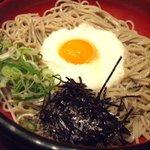 ふく泉 - 料理写真:冷やし山かけそば(700円)