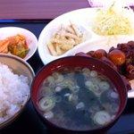 10460849 - 豚バラ肉の酢豚定食