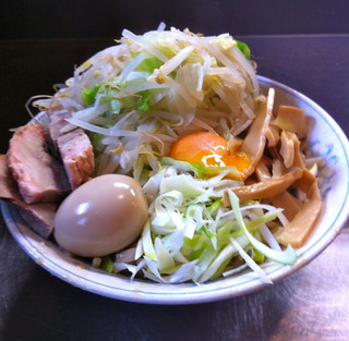 ラーメン 大 蒲田店 - 油そば(850円)野菜多め