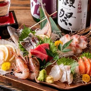 全国各地から直送!【新鮮な鮮魚盛り合わせ】