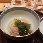 日本料理 太月 - 筍若竹煮