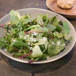 ドンブラボー - ランチのサラダ