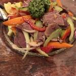 104604158 - 仔牛のタンと香味野菜のサラダ