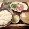 Higekan - 料理写真:あじのたたき定食1000円