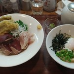 104610273 - 静岡漁港丼と西伊豆しおかつおうどん だし付き