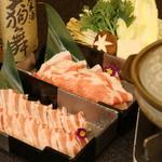 春家秋亭 - 豚しゃぶ
