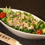 春家秋亭 - 肉しゃぶサラダ