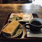 喫茶 たから - 料理写真:モーニングをいただきました(2019.3.29)