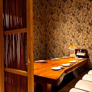 ◆扉付きの完全個室