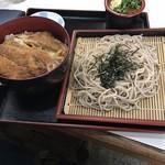 三勝 - ざるカツ丼690円!