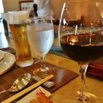 ステーキレストラン 勝 - グラスワイン