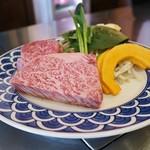 ステーキレストラン 勝 - ヒレ、サーロイン