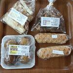 ボン・タケダ - 白・黒ラスク、黒糖かりんとう饅頭、原宿ドッグ