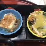 うじょう亭 - 奴と酢味噌和え