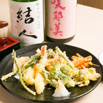 まずい魚 青柳 - 季節の天ぷら