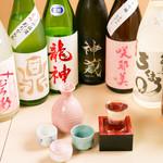 まずい魚 青柳 - 日本酒集合