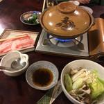 湯元 湧駒荘 - 知床豚のしゃぶしゃぶ