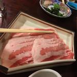 湯元 湧駒荘 - お肉アップ