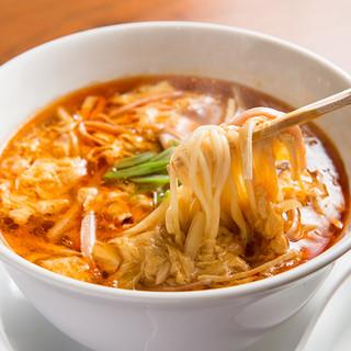 元祖酸辣湯麺の発祥